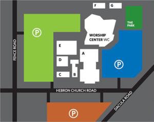 HBC Campus Map